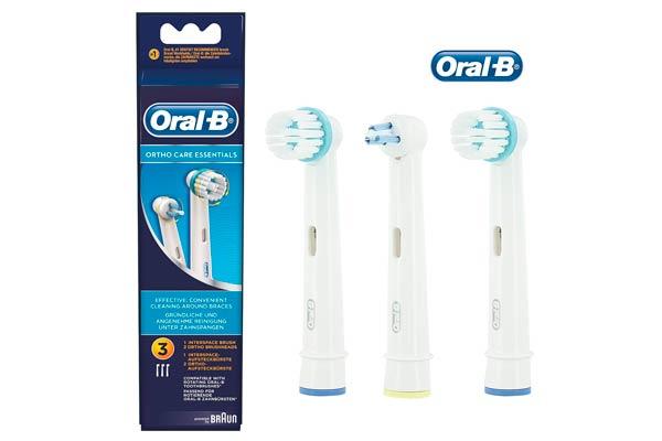 cabezal recambio oral-b ortho care baratos descuento rebajas cepillo dientes electrico braun