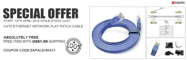 cable de red cat6 zapals barato