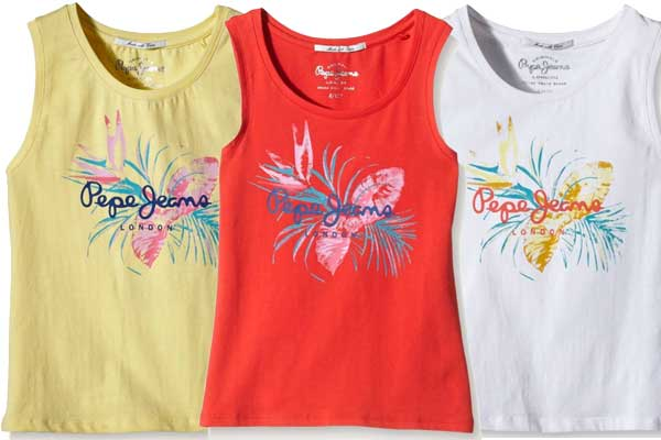 camiseta pepe jeans honey