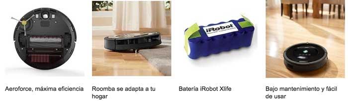 caracteristicas irobot roomba 871 barata