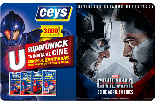 superunick te invita al cine barato civil war