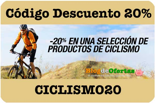 codigo descuento 20% ciclismo en amazon descuento ciclismo20 barato