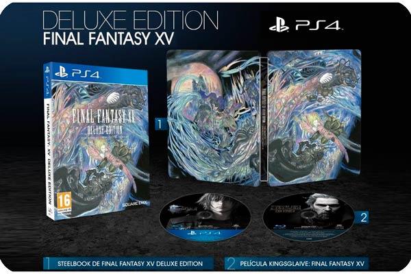 juego final fantasy xv deluxe edition