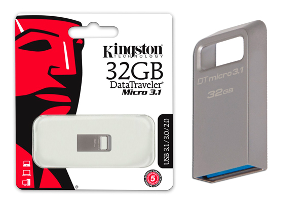 memoria usb kingston datatraveler micro 32gb barato descuento rebajas