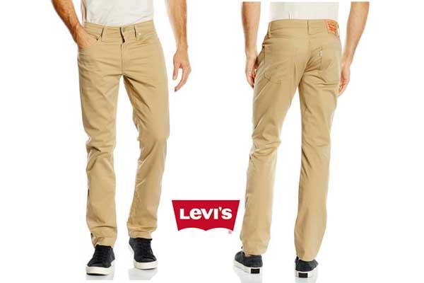 pantalon levis 511 beige barato descuento rebajas moda