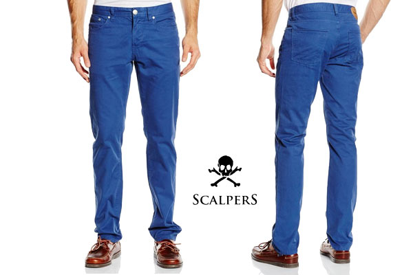 pantalones scalpers 5 bolsillos