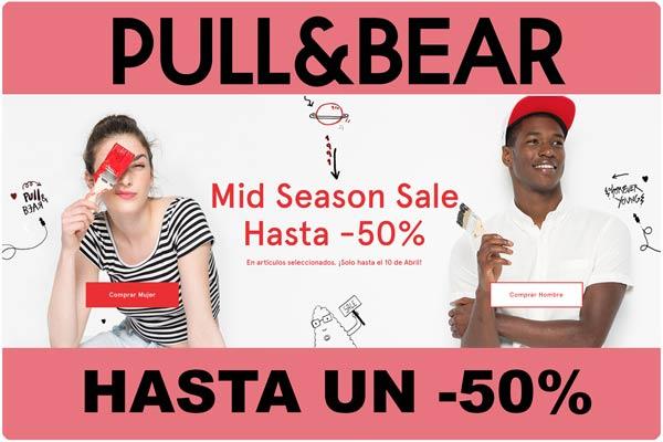 mid season sale pull and bear descuento rebajas moda