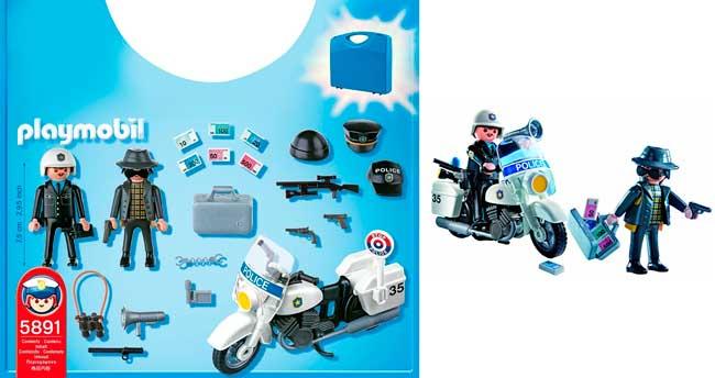 maletin policia playmobil 626650 barato descuento rebajas