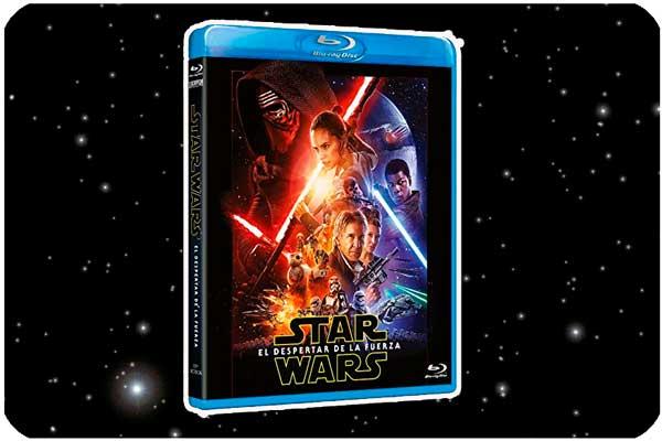 star wars el despertar de la fuerza bluray barata rebajas