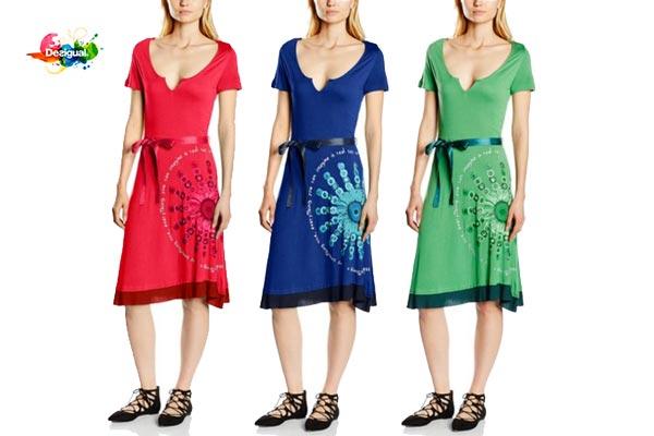 vestido desigual 55v21g1 barato descuento rebajas