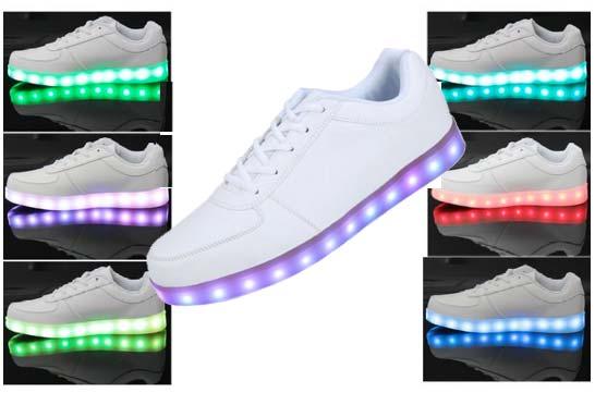 zapatillas vnfire luz led baratas descuento moda rebajas
