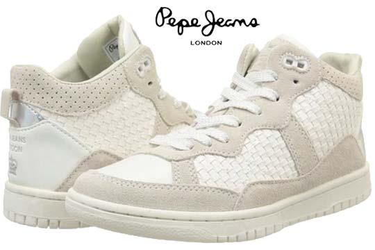 chollo zapatillas pepe jeans lindsay woven baratas descuento rebajas moda