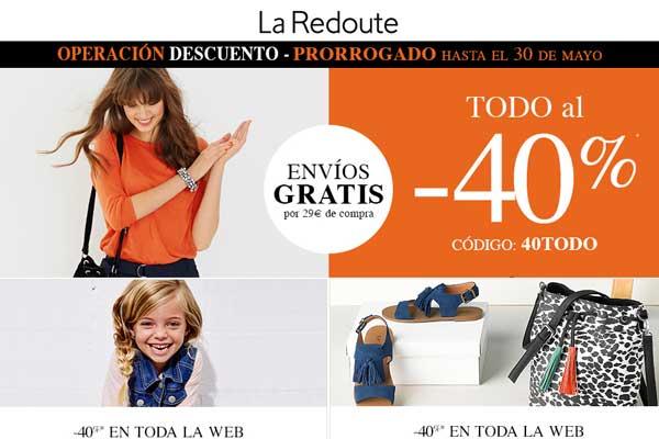 -40% descuento la redoute barato descuento chollos moda hogar chollos ofertas moda