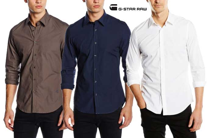 camisa gstar core barata descuento rebajas ofertas chollo amazon moda