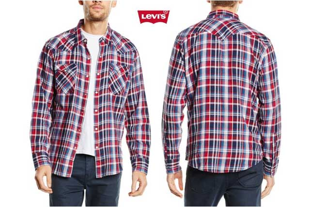 camisa levis barstow western shirt barata descuento oferta chollo