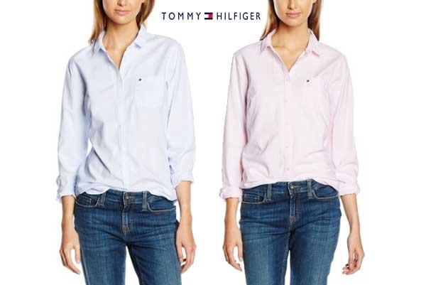 camisa tommy hilfiger sithaca barata descuento rebajas ofertas chollos amazon moda