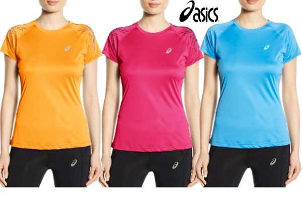 camiseta Asics L2 stripe