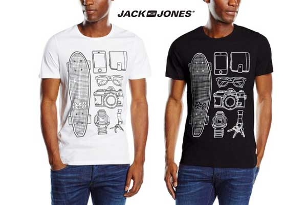 camiseta jack jones jjoroutfit