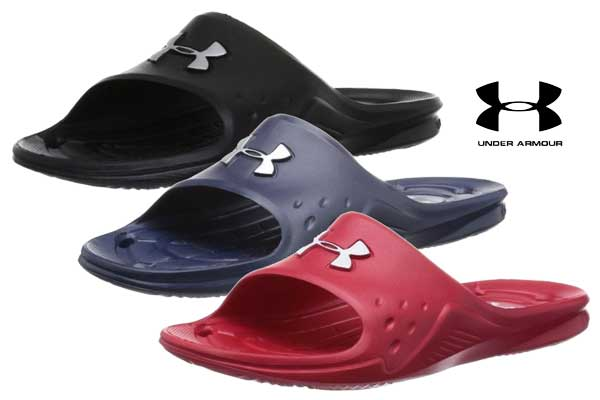 chanclas under armour locker