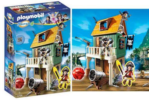 fuerte pirata playmobil 4796 barato playset juguete rebajas descuento