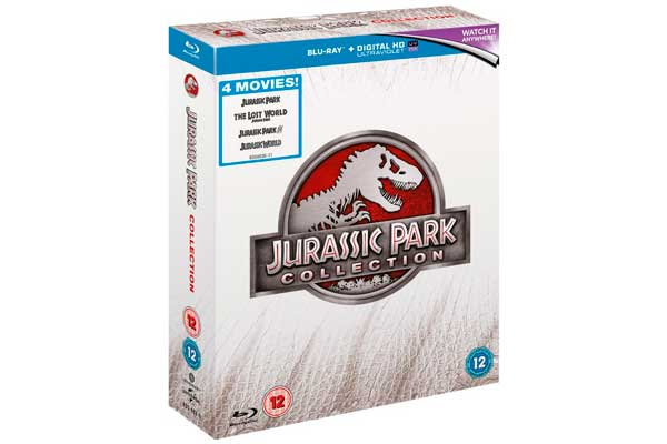 jurassic park collection bluray barato descuento rebajas ofertas chollos zavvi bluray