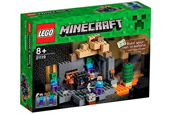 lego minecraft mazmorra