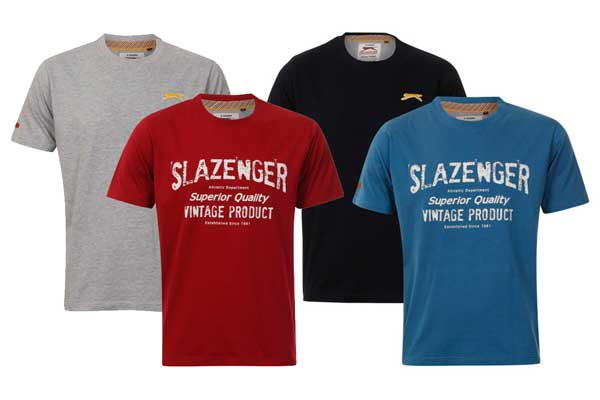 pack 2 camisetas slazenger baratas descuento rebajas