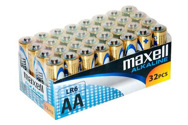 pilas alcalinas maxell baratas AA AAA rebajas ofertas chollos descuentos