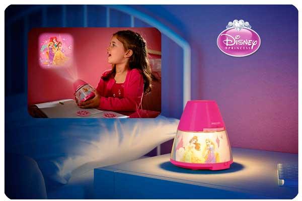 Chollo Luz Proyector Princesas Disney Philips barato