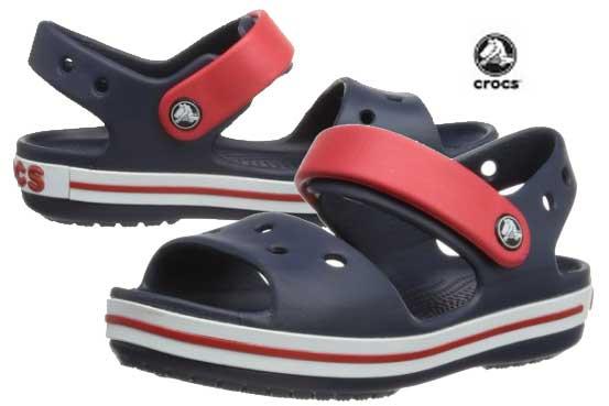 sandalias crocs crocband baratas descuento kids moda calzado verano