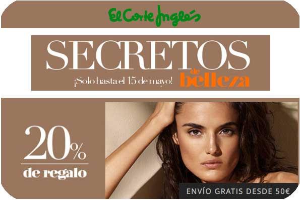 secretos de belleza el corte ingles mayo 2016 barato rebajas cosmeticos