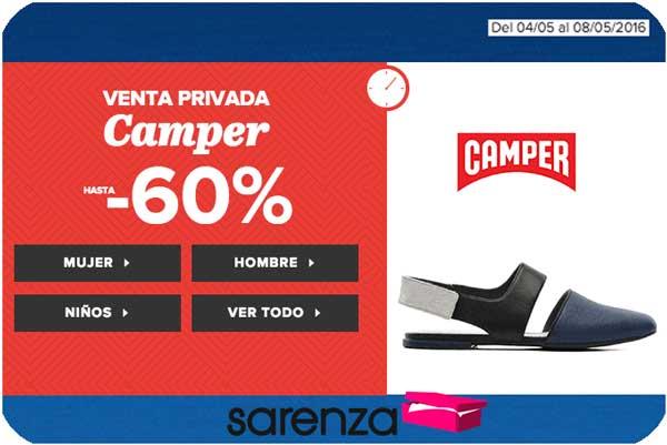 venta privada camper sarenza barato zapatos rebajados chollos ofertas blog