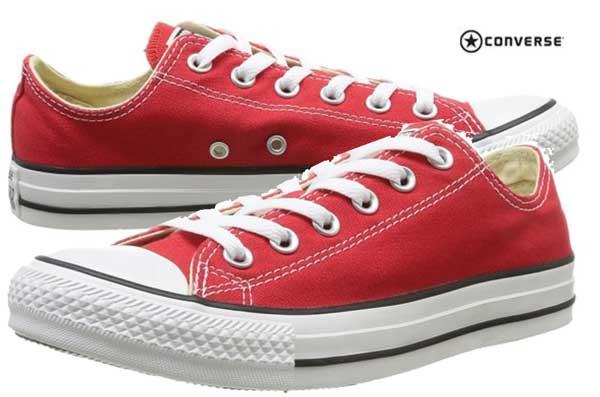 zapatillas converse rojas chuck taylor