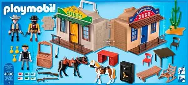 accesorios y piezas maletin del oeste playmobil barato