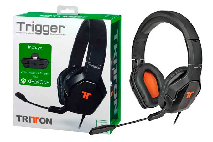 auriculares tritton stereo trigger baratos chollos ofertas rebajas