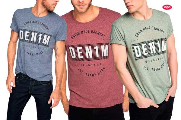 camiseta edc heath print tee