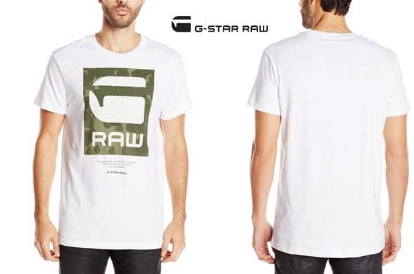 camiseta g star raw beamrac