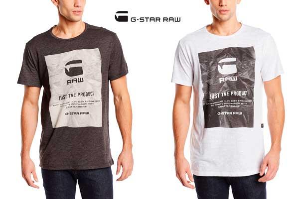 camiseta g star raw lenk 2