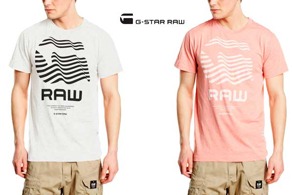 camiseta g star raw rinor