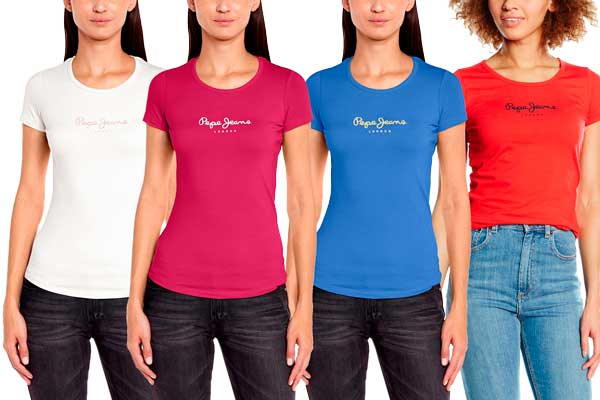 camiseta pepe jeans new virginia