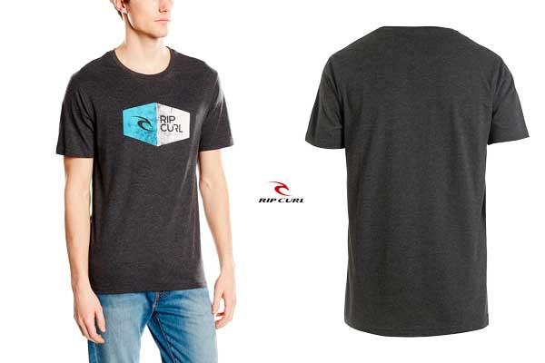 camiseta rip curl 3d icon tee