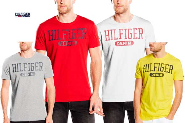 camiseta tommy hilfiger basic