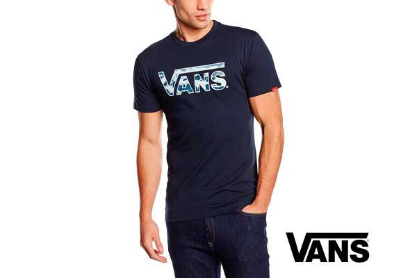 Camiseta vans classic logo fill