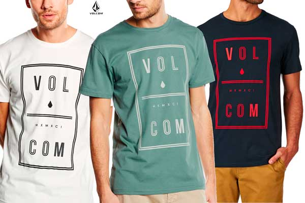camiseta volcom saturday bsc barata oferta descuento chollo bdo