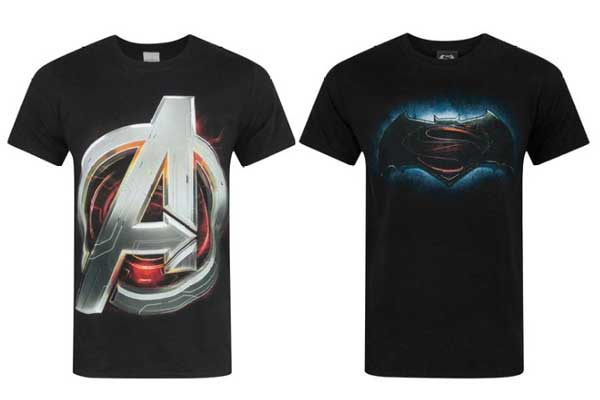 camisetas frikis baratas vengadores superman vs batman chollos descuentos blog de ofertas