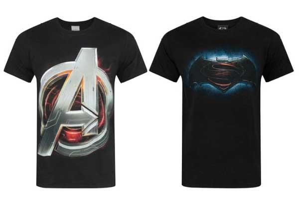 camisetas frikis baratas vengadores superman vs batman chollos descuentos blog de ofertas