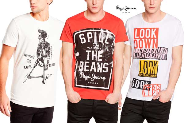 camisetas pepe jeans baratas