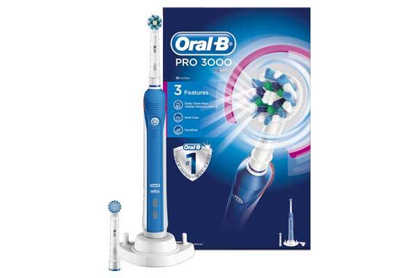 cepillo electrico oral-b pro 3000 crossaction barato chollos rebajas