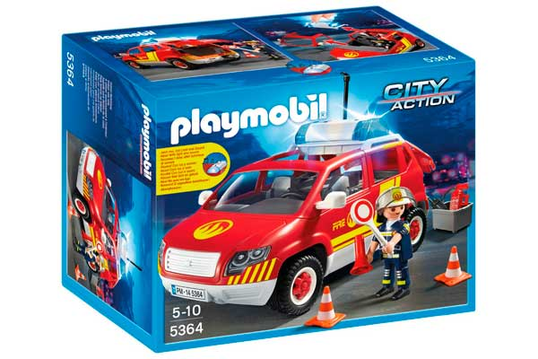 coche jefe bomberos playmobil 5364 barato chollos ofertas