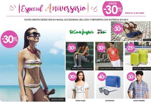 especial aniversario el corte ingles ofertas promociones ofertas chollos 75 barato